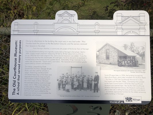 Stories of Us: The Narrogin - 14. The Courthouse Museum: A school
