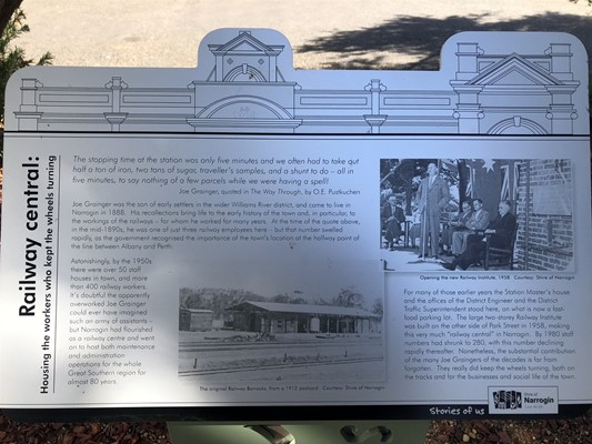 Stories of Us: The Narrogin - 3. Railway Central: Housing the