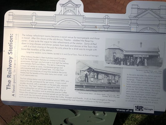 Stories of Us: The Narrogin - 23. The Railway Station: A