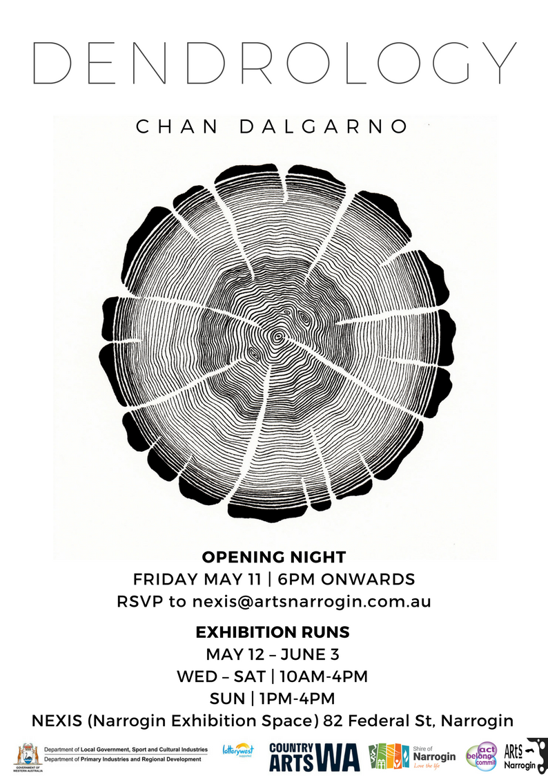 Exhibition Opening: DENDROLOGY by Chan Dalgarno