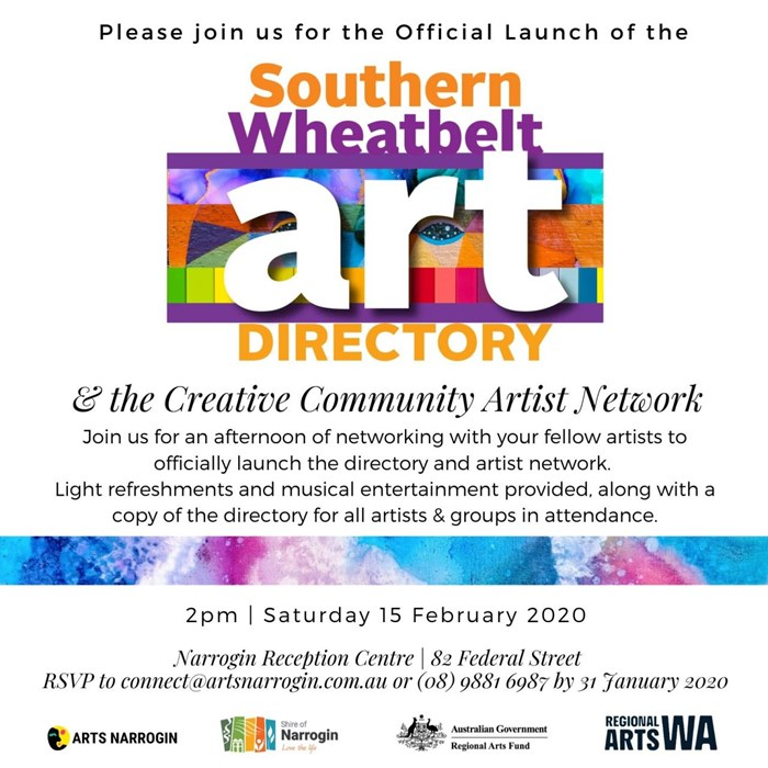 Official Launch of the Southern Wheatbelt Art Directory