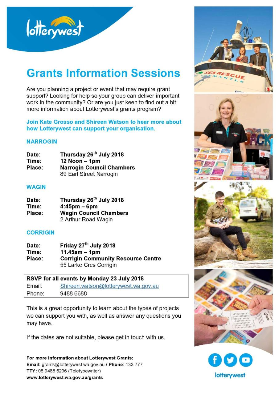 Grants Information Session
