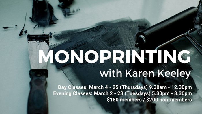 Art Classes | Monoprinting with Karen Keeley