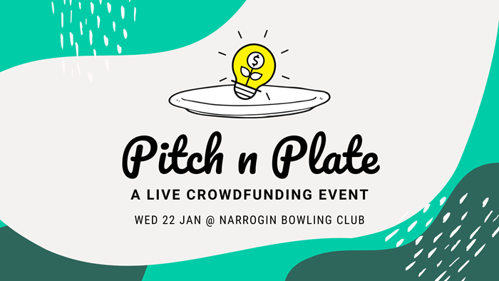 Pitch n Plate: Live Crowdfunding Event