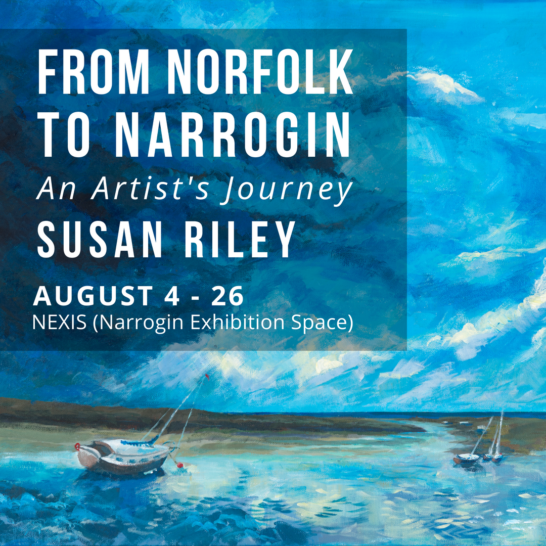 Exhibition Opening - From Norfolk to Narrogin: An Artist's Journey