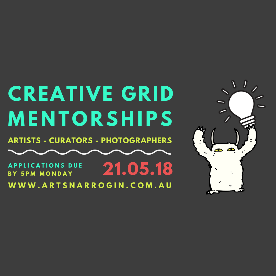 Creative Grid Mentorships: Application deadline 5pm 21st May