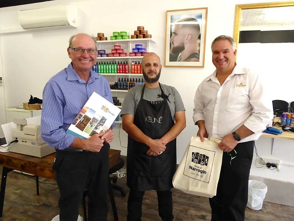 Clear Cut Decision for Narrogin's New Barber