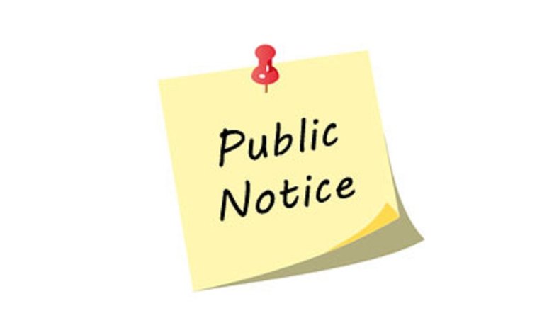 Public Notice - 2018/2019 Fees and Charges