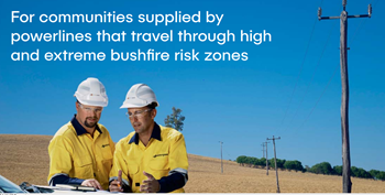 Power outages during bushfires