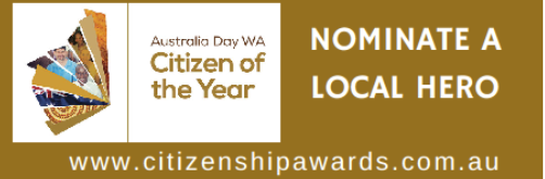 2018 Citizen of the Year Awards Nominations close 31 October.
