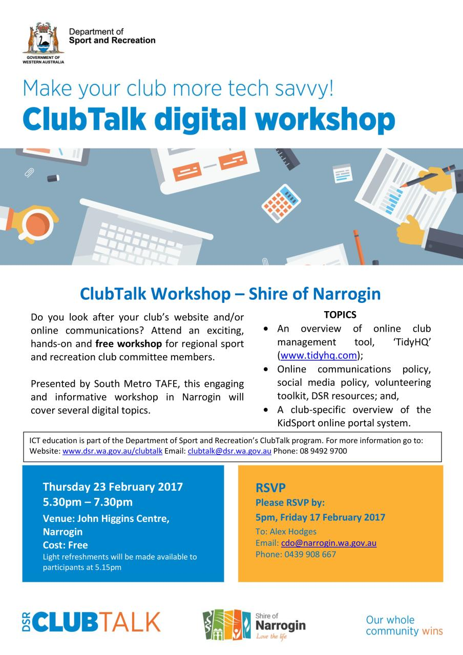 ClubTalk Digital Workshop